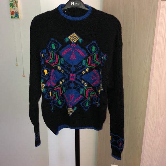 Vintage Sweaters - 🌟Vintage🌟 NEW knit sweater size M